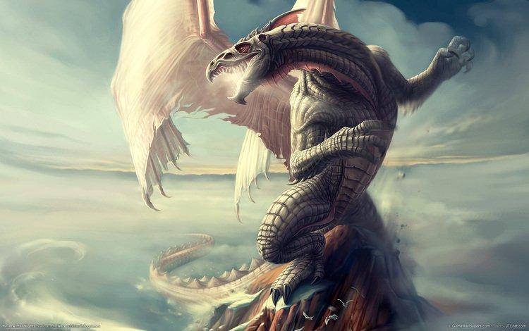 дракон, neverwinter nights, чешуя, dragon, scales