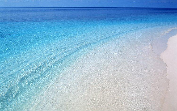 вода, берег, волны, море, пляж, валлпапер, water, shore, wave, sea, beach, wallpaper