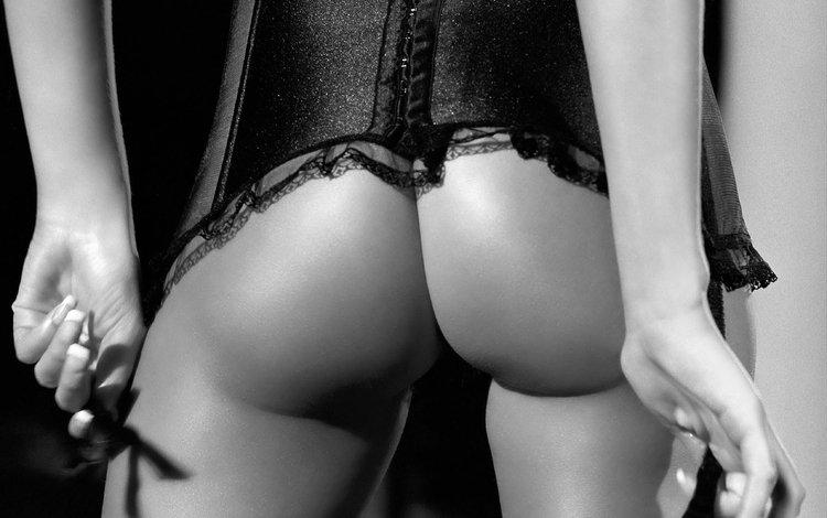 ass, pussy, corset