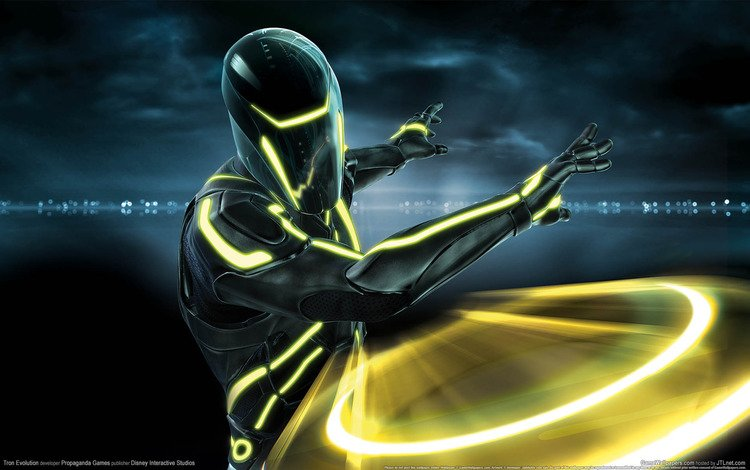 tron evolution, трон, game wallpapers, диск, the throne, disk