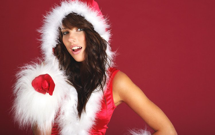 новый год, обои, девушка, брюнетка, ты, new year, wallpaper, girl, brunette, you
