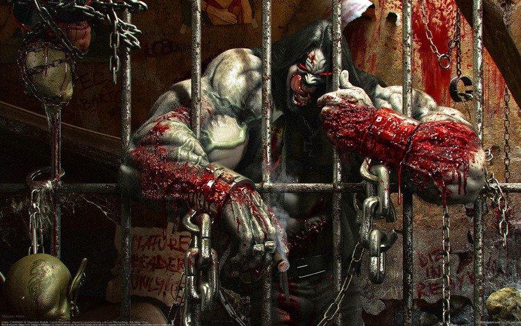 кровь, монстр, клетка, stanislav klabik - lobo, blood, monster, cell