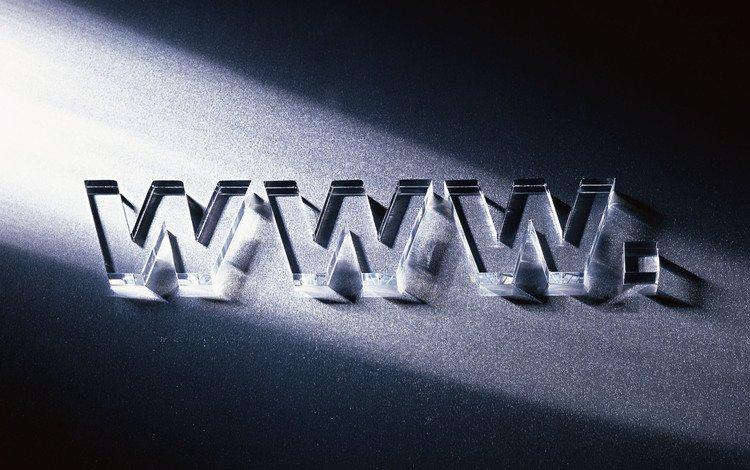 letters, glass, internet, www