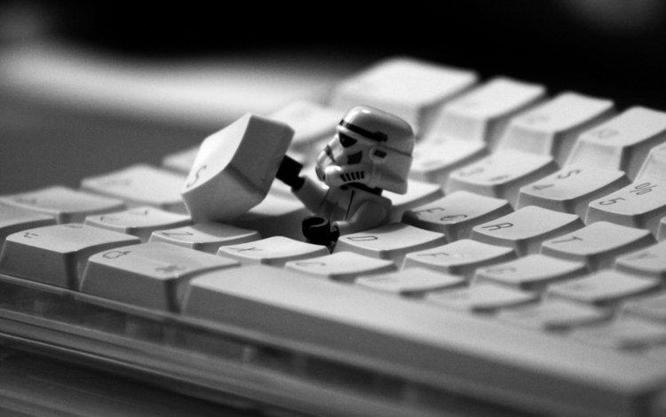 клавиатура, звездные войны, клон, keyboard, star wars, clone