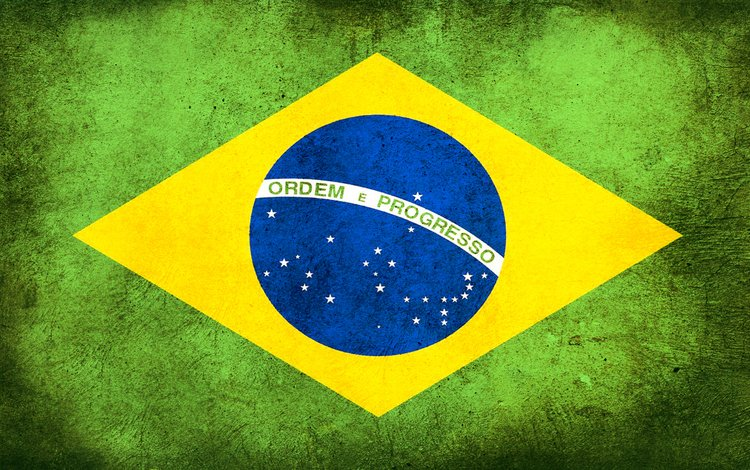грязь, флаг, бразилия, dirt, flag, brazil