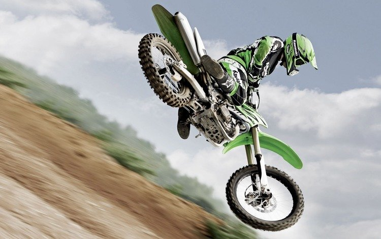 jump, motorcycle, cross