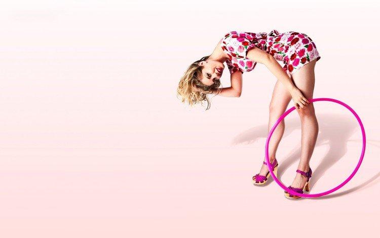 розовый обруч, pink wrap