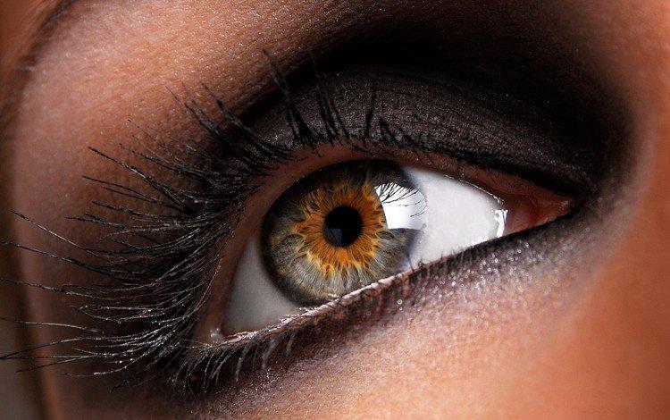 глаза, девушка, лицо, ресницы, eyes, girl, face, eyelashes