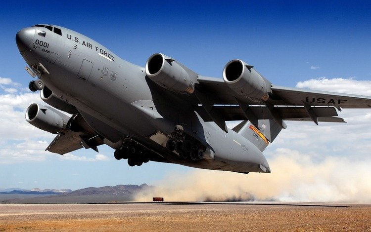 the plane, military, the rise, c-17 globemaster, freighter
