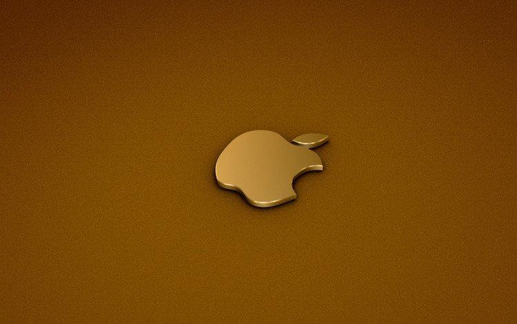 logo, gold, computer, aplle