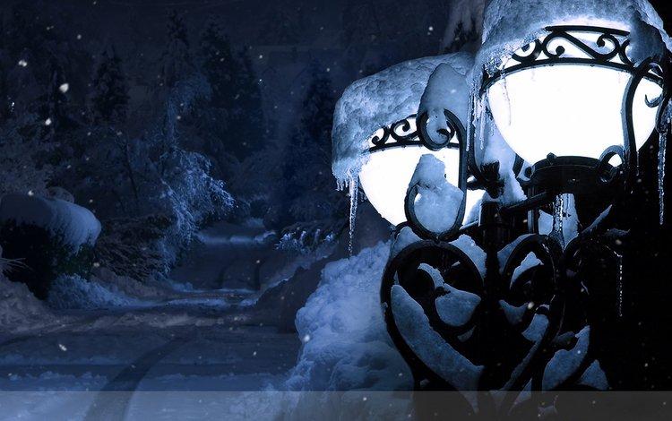 новый год, зима, фонарь, new year, winter, lantern