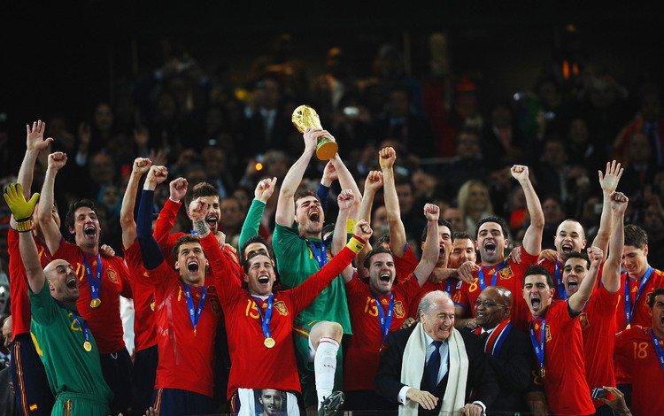 футбол, чемпионат мира по футболу 2010, испания, сборная испании, кубок, football, the world cup 2010, spain, cup