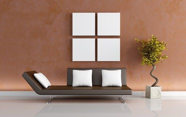 растения, стиль, дизайн, квартира, дом, задумка, идея, диван, комфорт, comfort, plants, style, design, apartment, house, the idea, sofa