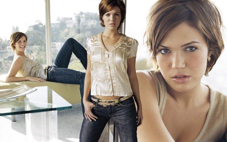 девушка, серый, женщины, модель, напоказ, мэнди мур, girl, grey, women, model, on display, mandy moore