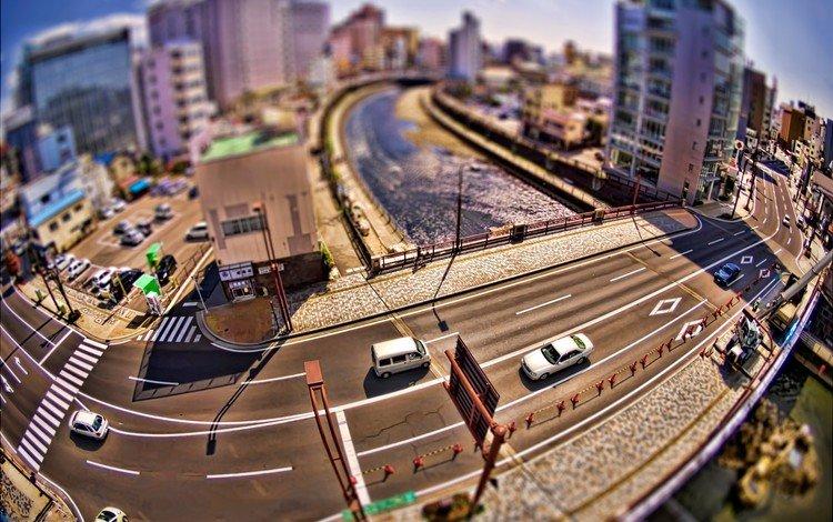 дорога, мосты, города, roads, мостики, город, дома, креатив, фотографии, машины, улицы, road, bridges, city, the city, home, creative, photos, machine, street