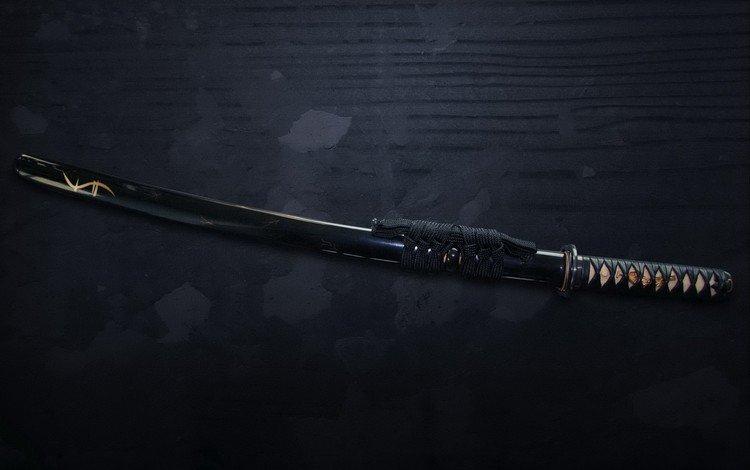 меч, самурай, катана, sword, samurai, katana