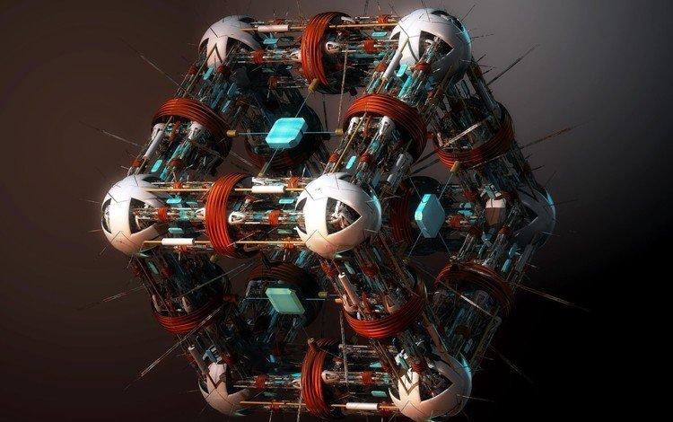 обои, картинка, куб, красиво, супер, nano surgeon, wallpaper, picture, cube, beautiful, super