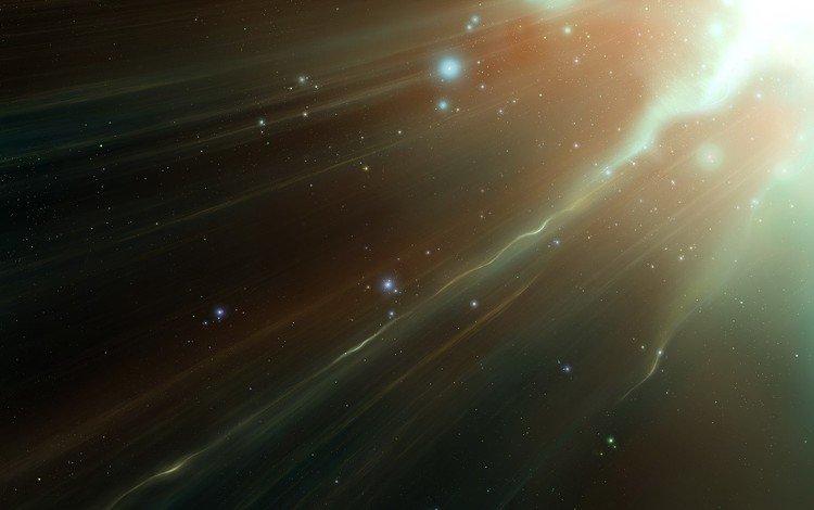 свет, звезды, поток, light, stars, stream