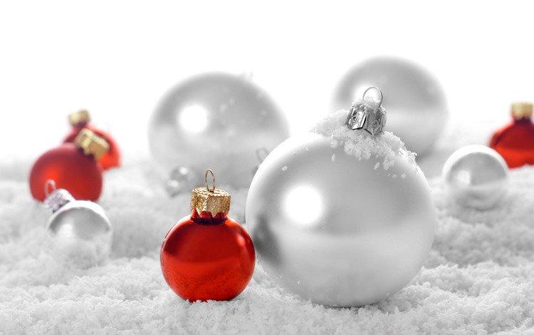 снег, рождество, новый год, рождественские обои, шары, зима, настроение, новогодние обои, праздники, праздничные обои, snow, christmas, new year, balls, winter, mood, christmas wallpaper, holidays, holiday wallpaper