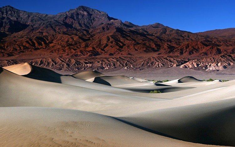 горы, песок, пустыня, mountains, sand, desert