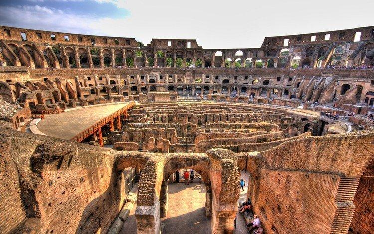 италия, колизей, рим, italy, colosseum, rome