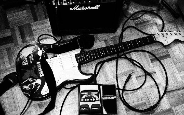 обои, музыкальный, шнур, стиль, штекер, фото, музыка, чёрно-белое, инструмент, электрогитара, кабель, wallpaper, cord, style, plug, photo, music, black and white, tool, electric guitar, cable