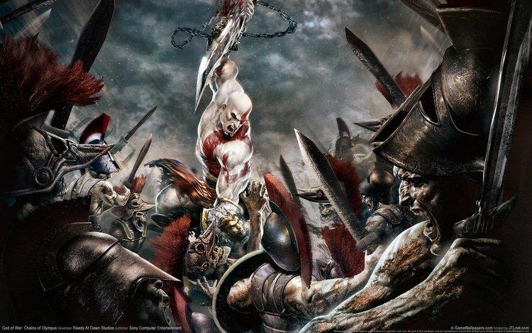 kratos, gof of war, attacks