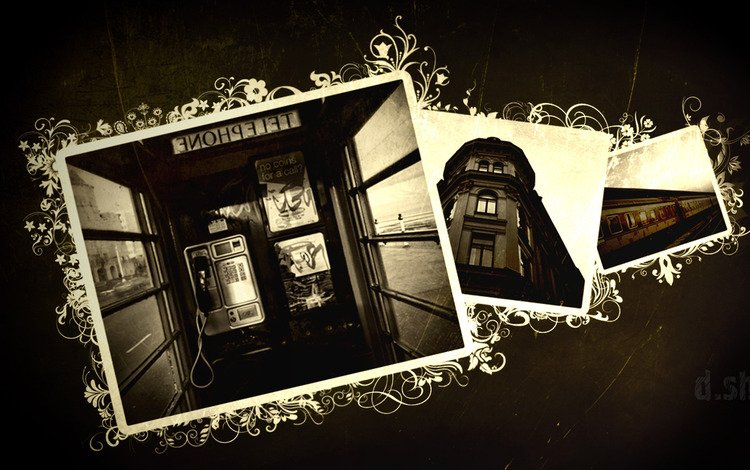 train, phone, booth