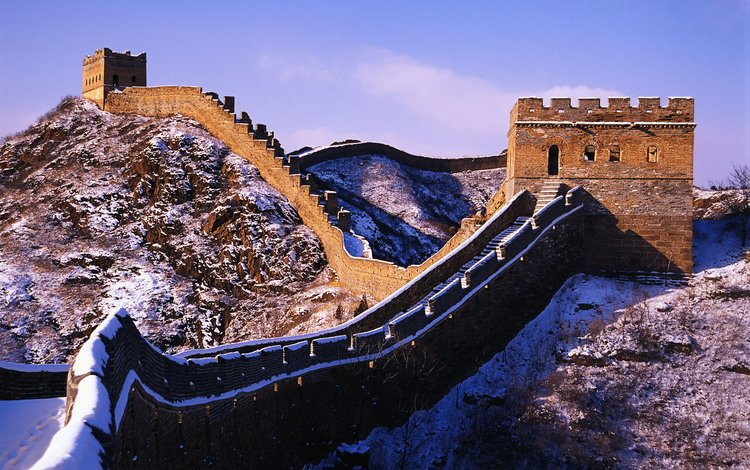 стена, китай, великая китайская стена, wall, china, the great wall of china
