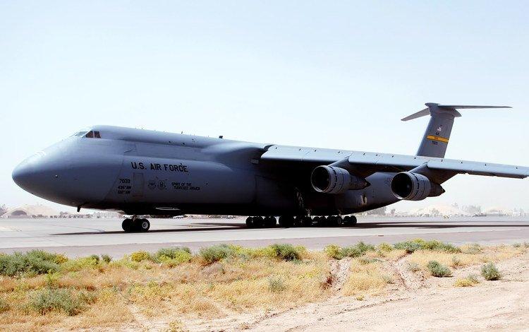 самолет, транспорт, взлетная полоса, грузовой, the plane, transport, runway, cargo