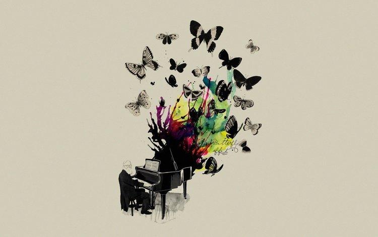 музыка, пианино, музыкант, matheus lopes castro, mathiole, butterflys, музыкa, music, piano, musician