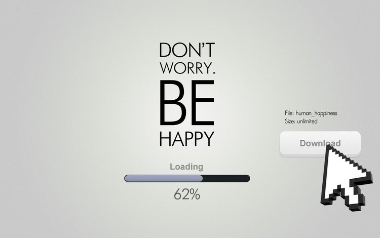 the inscription, the cursor, text, download, loading, 62%