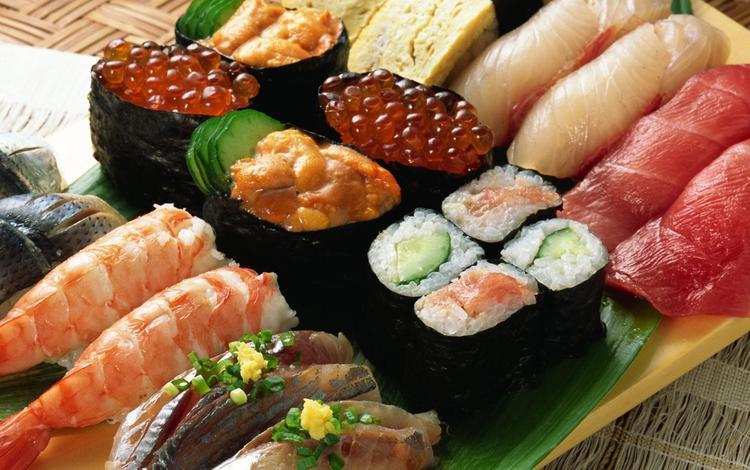 еда, рыба, икра, роллы, морепродукты, блюдо, креветки, food, fish, caviar, rolls, seafood, dish, shrimp