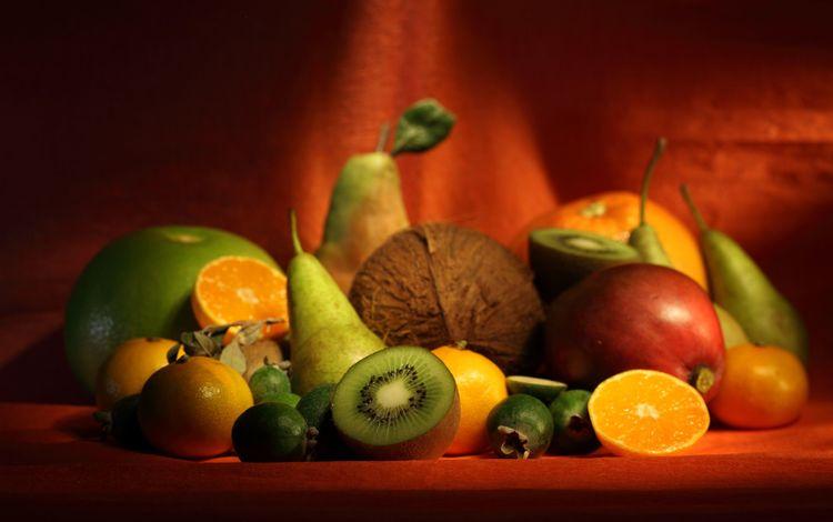 фрукты, ягоды, бананы, апетит, fruit, berries, bananas, appetite