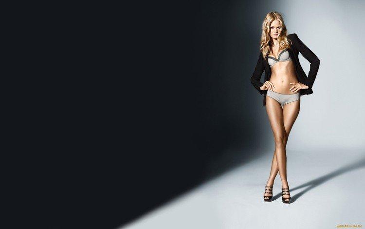 девушка, блондинка, модель, эрин хизертон, girl, blonde, model, erin heatherton