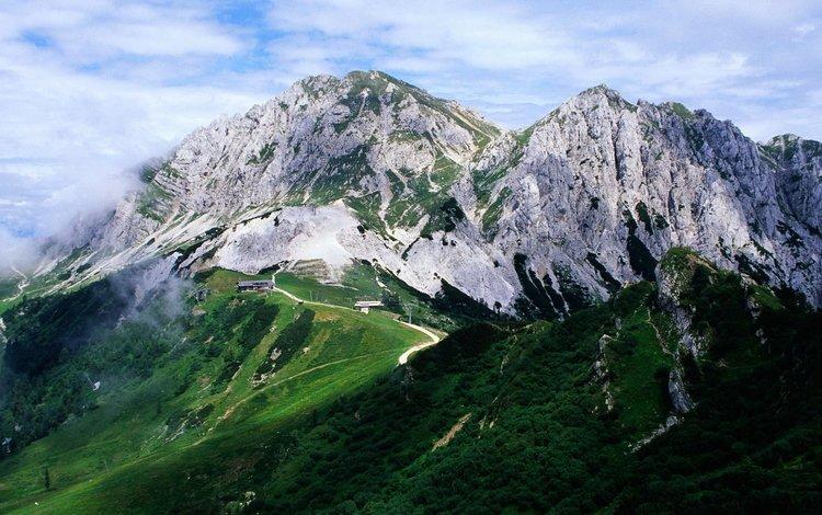 дорога, гора, серпантин, road, mountain, serpentine
