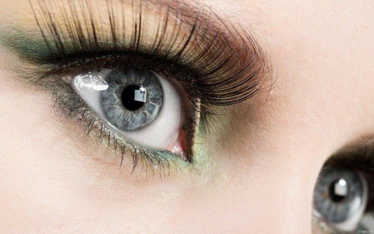 глаза, ресницы, eyes, eyelashes