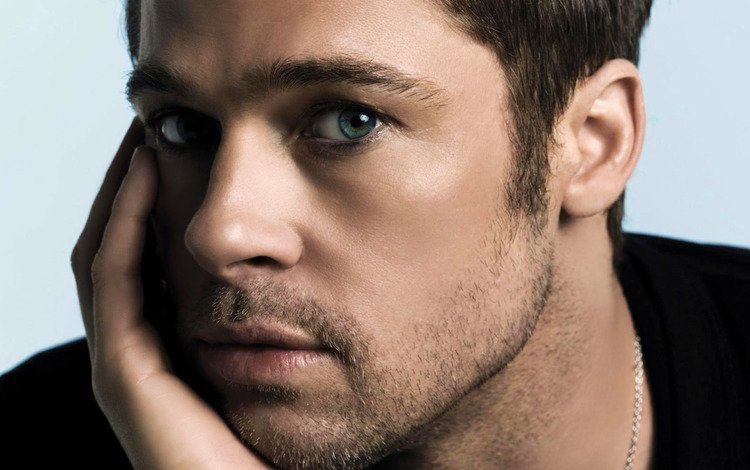 портрет, щетина, взгляд, актёр, лицо, мужчина, брэд, питт, брэд питт, portrait, bristles, look, actor, face, male, brad, pitt, brad pitt