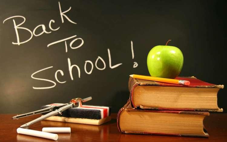 книги, яблоко, школа, 1 сентября, день знаний, мел, учебники, books, apple, school, 1 sep, the day of knowledge, mel, textbooks