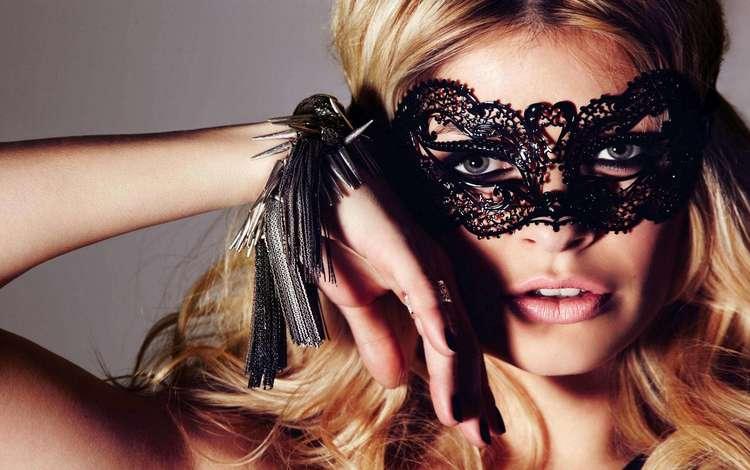 девушка, маска, блондинка, портрет, модель, лицо, маска., holly willoughby, girl, mask, blonde, portrait, model, face, mask.
