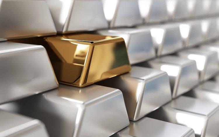 серебро, золото, слитки, silver, gold, bars