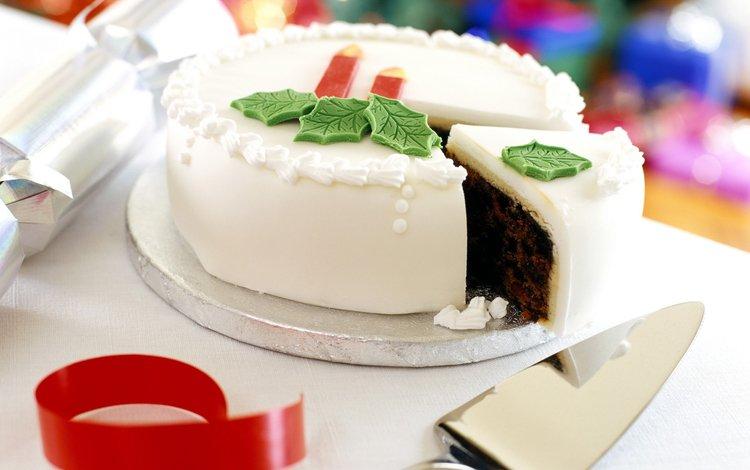 new year, sweets, holiday, cake, dessert, glaze