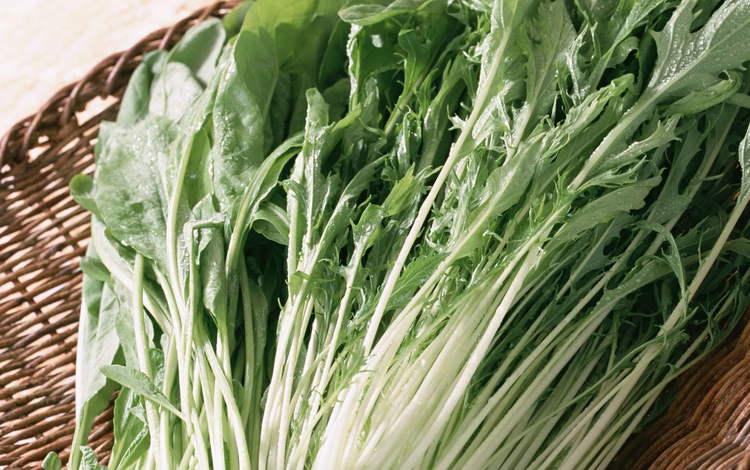 greens, vegetables