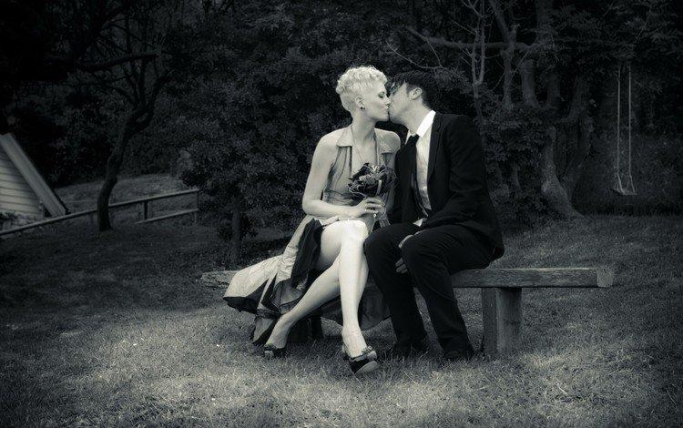 поцелуй, свидание, kiss, date