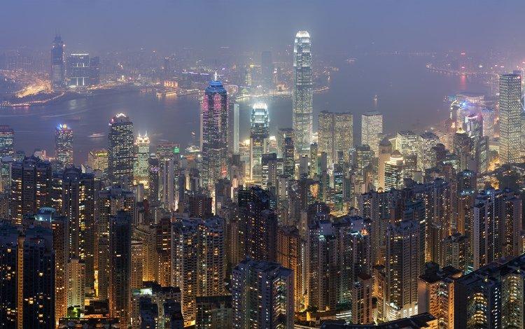 небоскребы, гон-конг, skyscrapers, hong kong