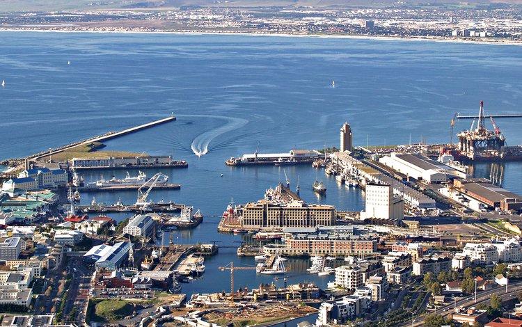 море, вид, лодки, порт, бухта, sea, view, boats, port, bay
