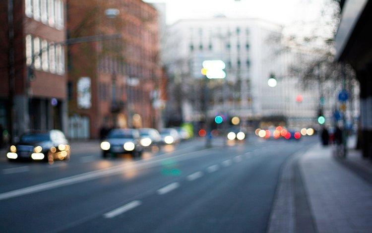 дорога, улица, машины, прага, road, street, machine, prague