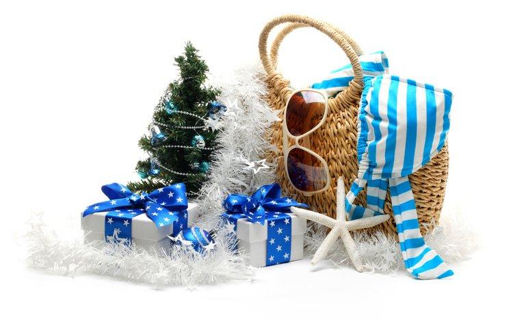 новый год, зима, сумочка, отдых, купальник, new year, winter, handbag, stay, swimsuit