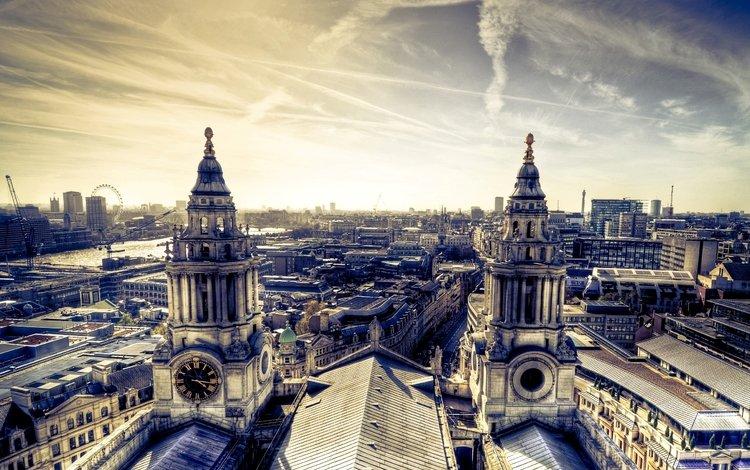 панорама, город, дома, архитектура, здания, panorama, the city, home, architecture, building