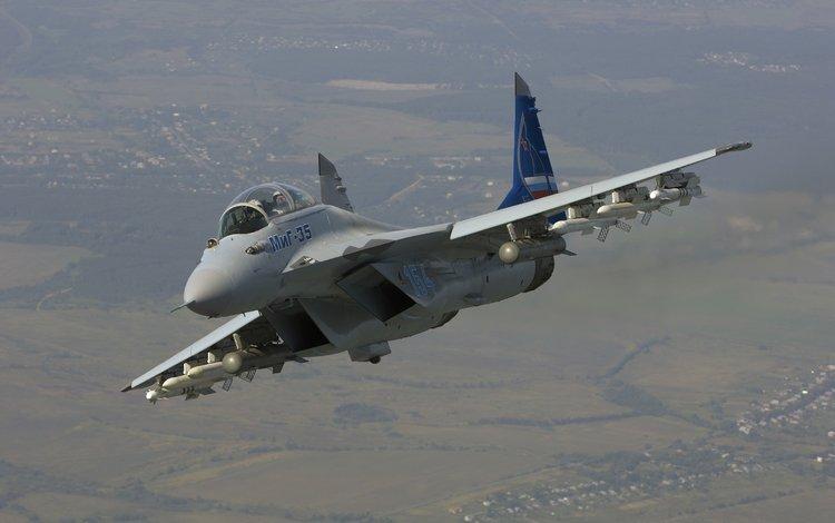 полет, истребитель, миг 35, flight, fighter, mig 35